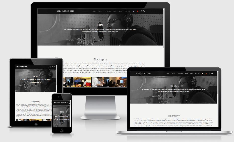 Личен сайт на музиканта Недялко Джелепов