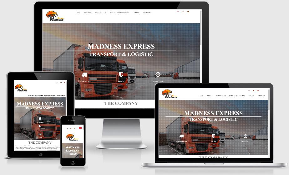 Маднес Експрес – Транспорт и логистика